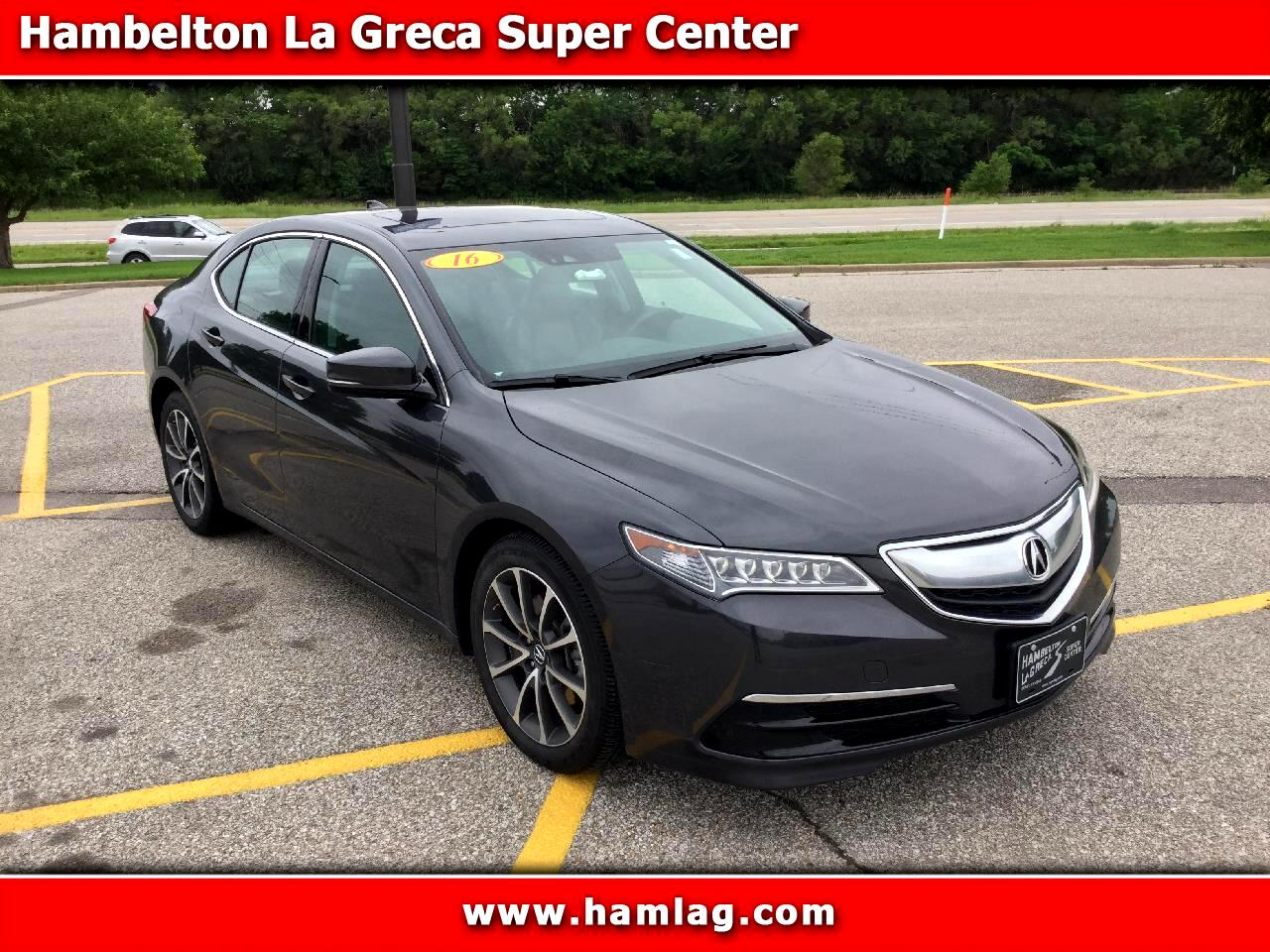 2016 Acura TLX SH-AWD Tech Pack V6