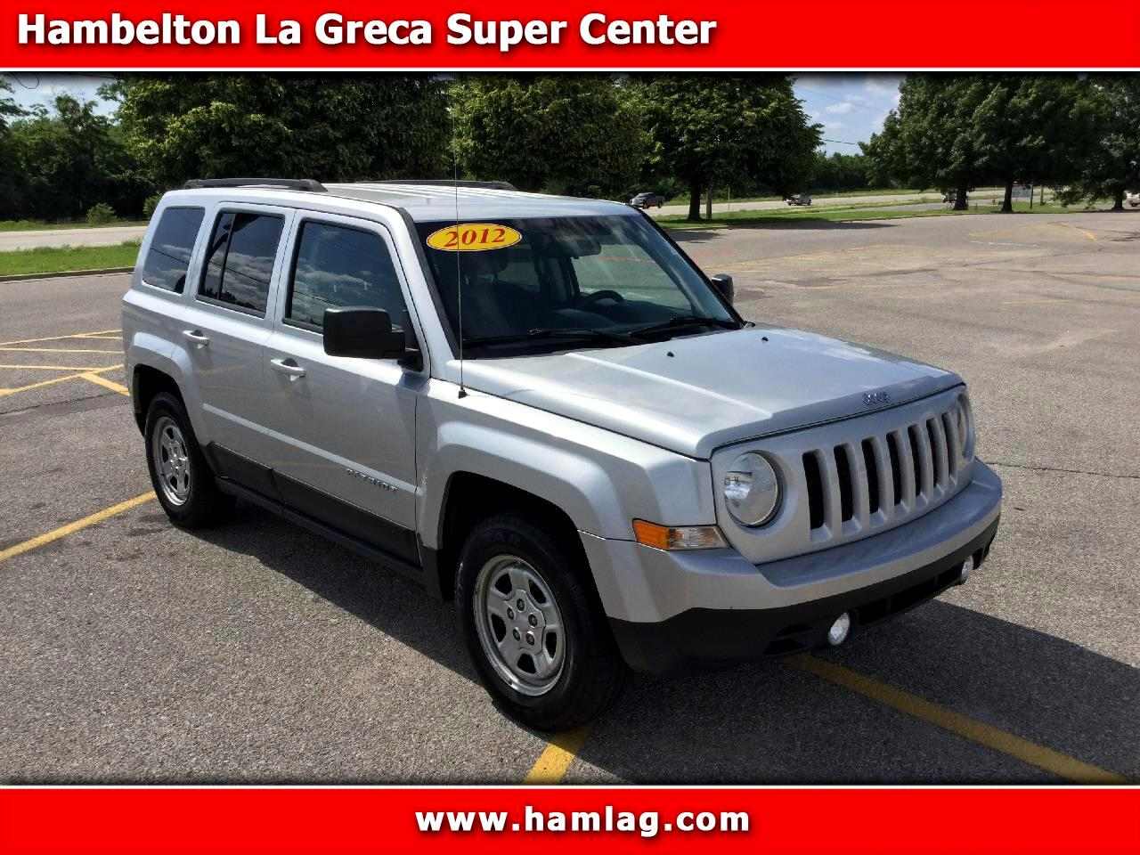 2012 Jeep Patriot Sport FWD