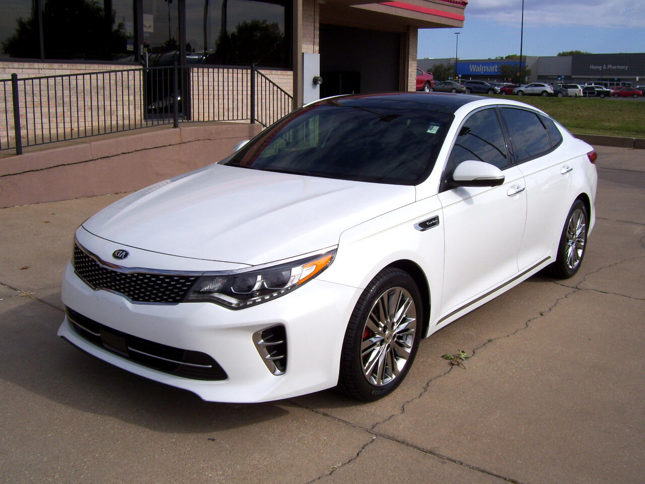 Kia Optima SXL Turbo 2017