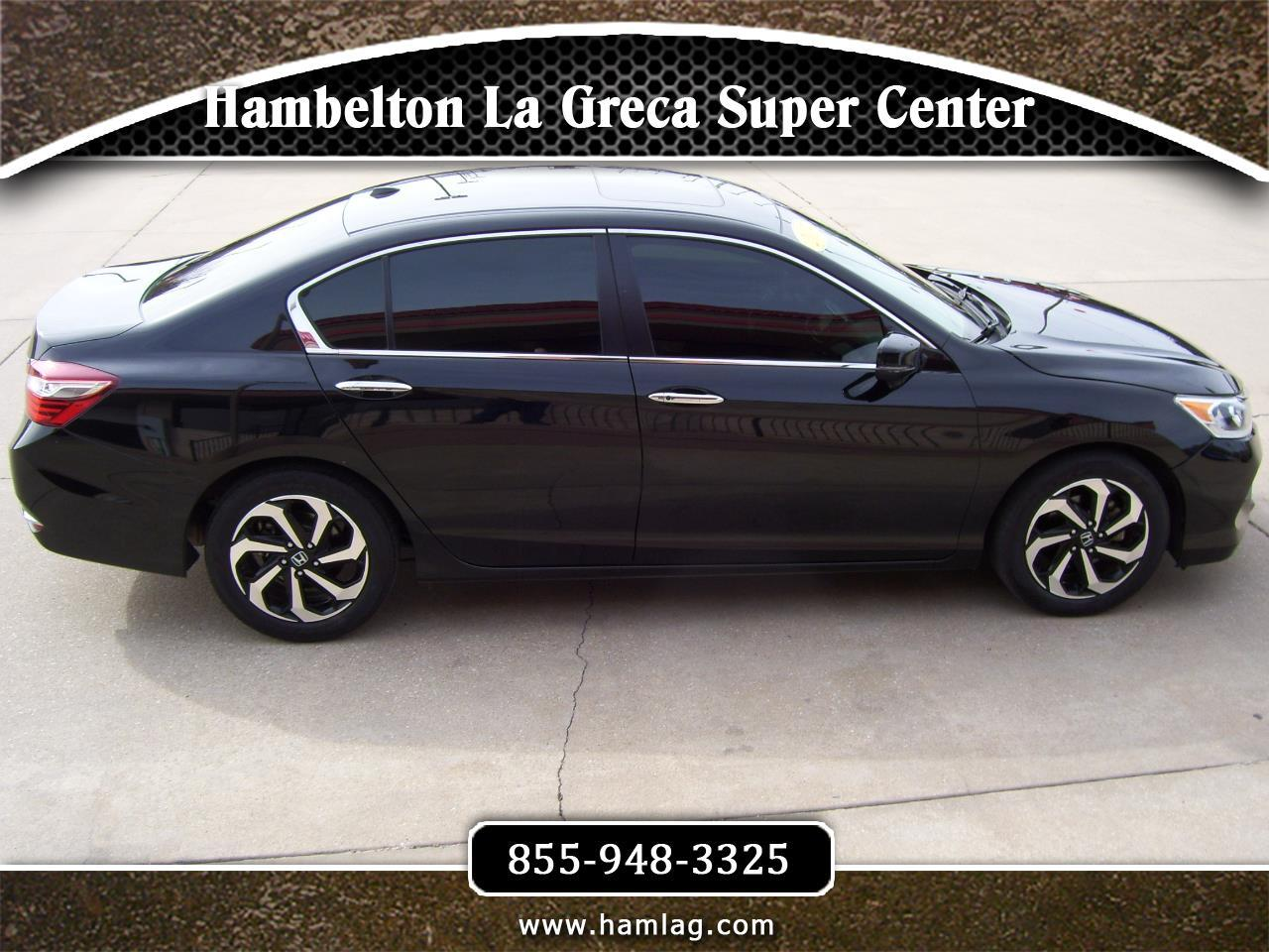 Honda Accord EX Sedan CVT 2017