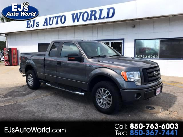 "2009 Ford F-150 4WD SuperCab 133"" FX4"