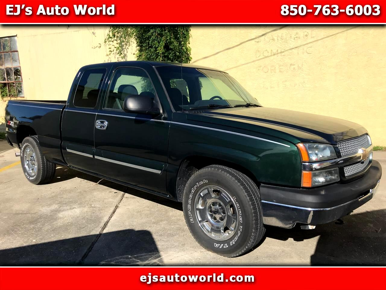 Chevrolet Silverado 1500 Work Truck Ext. Cab Short Bed 2WD 2004