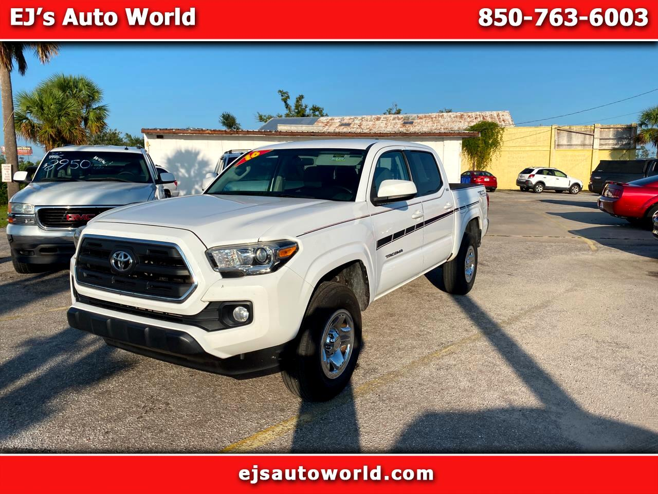 Toyota Tacoma 2WD Double Cab LB V6 AT PreRunner (Natl) 2016