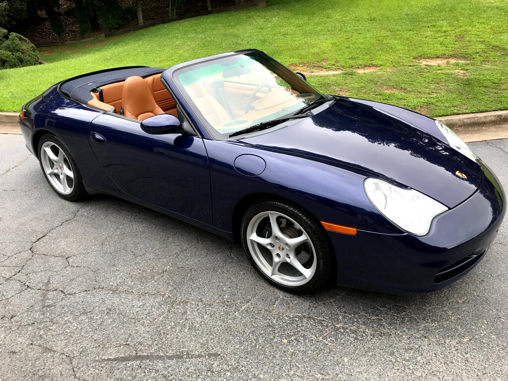 2002 Porsche 911 Carrera 2dr Carrera Cabriolet 6-Spd Manual