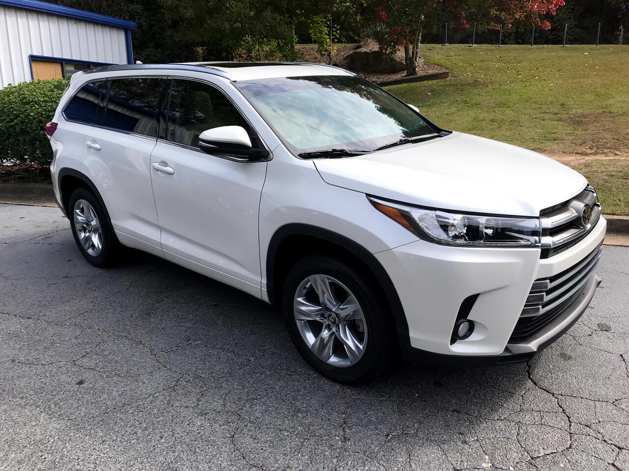 Toyota Highlander Limited V6 FWD (Natl) 2017