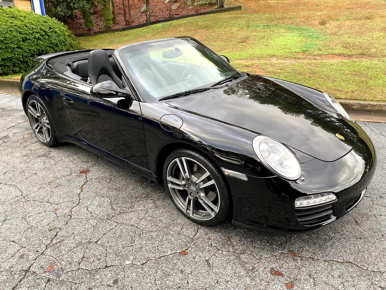 Porsche 911 2dr Cabriolet Carrera Black Edition 2012