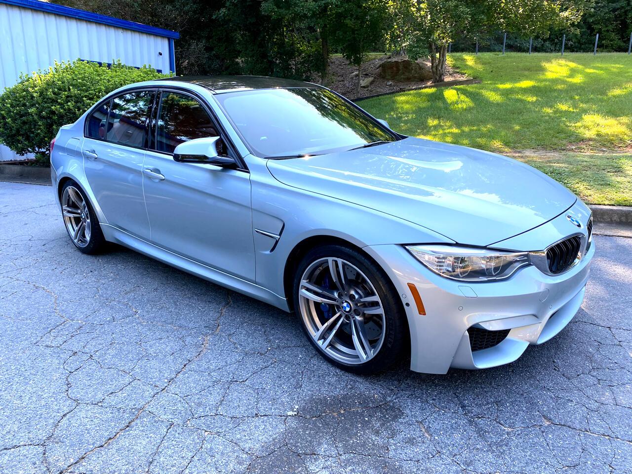 BMW M3 4dr Sdn 2015