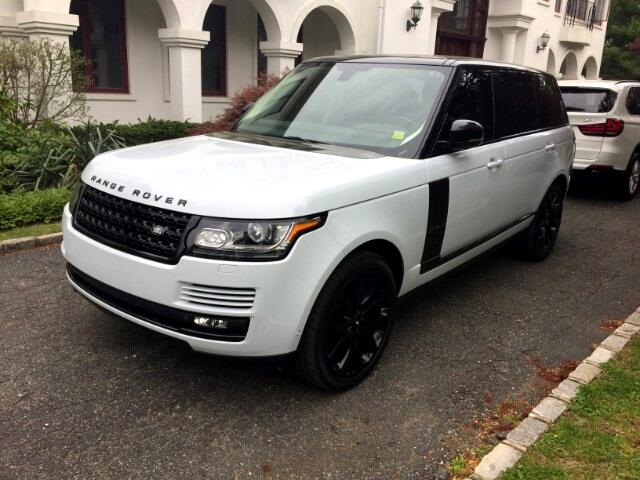 2015 Land Rover Range Rover Supercharged LWB Ebony Edition