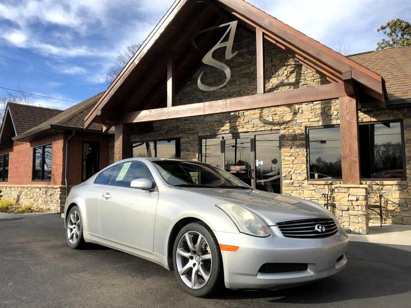 2003 Infiniti G35 Coupe 2dr Cpe Auto w/Leather