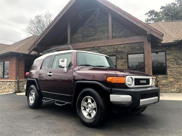 Auto Solutions Maryville Tn >> Used 2007 Toyota Fj Cruiser In Maryville Tn Near 37804 Jtezu11fx70012523 Auto Com