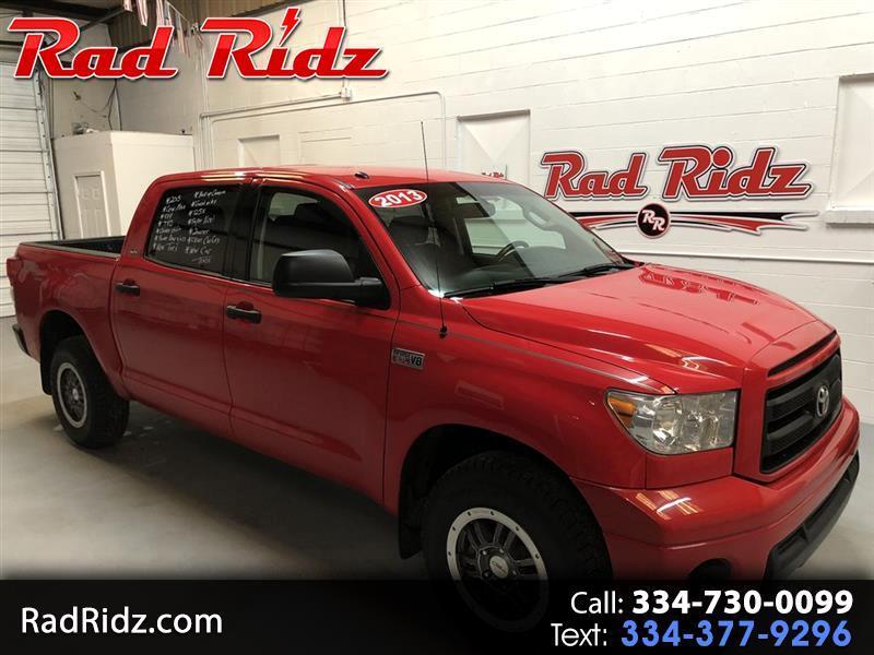 2013 Toyota Tundra 4WD Truck CrewMax 5.7L V8 6-Spd AT (Natl)