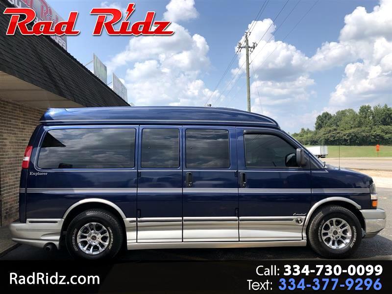 "2004 Chevrolet Express Passenger 1500 135"" WB RWD"