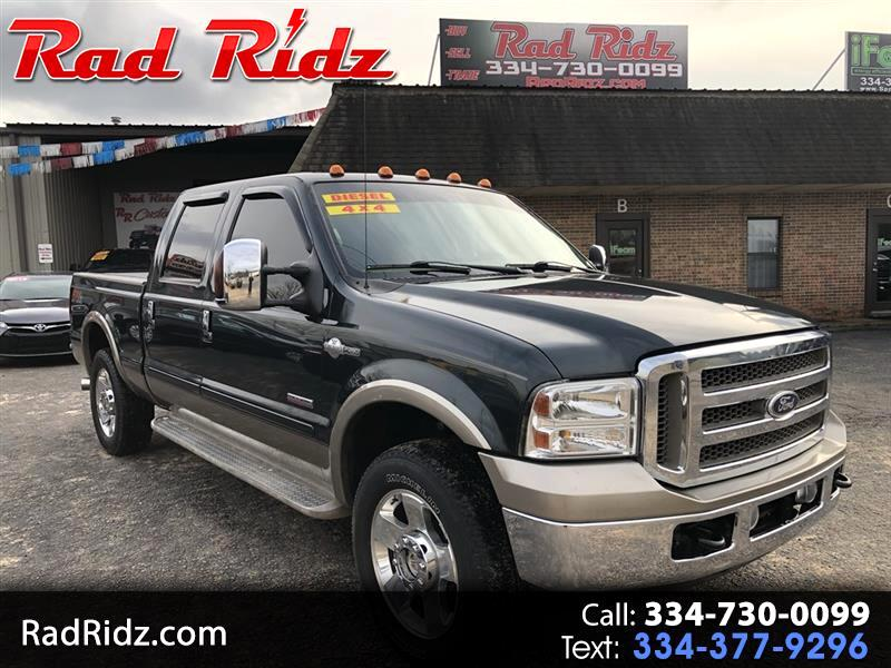2006 Ford F-250 Crew Cab F250sd King Ranch 4WD