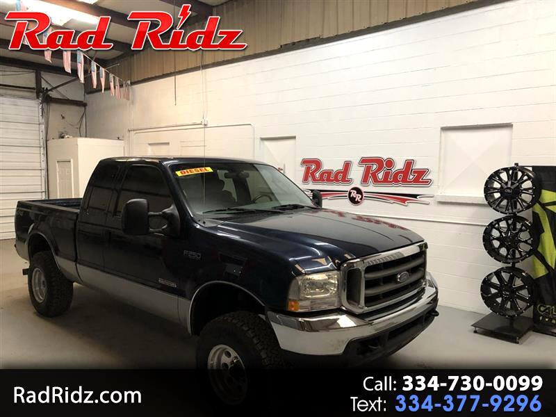 2004 Ford F250 Supercab 142