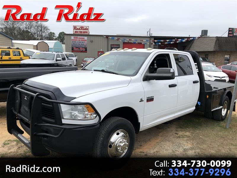 2012 RAM 3500 3500 ST FLATBED DUALLY