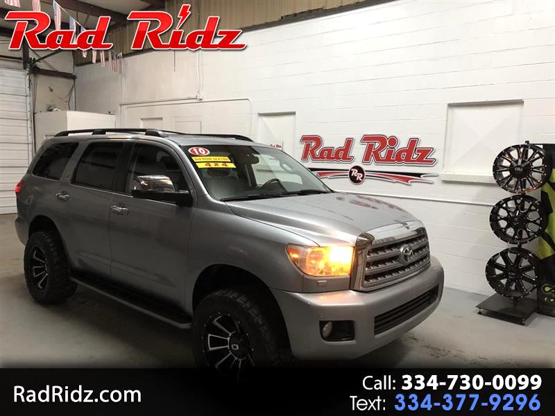 2010 Toyota Sequoia 4WD LV8 6-Spd AT Platinum (Natl)