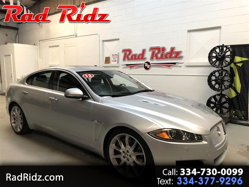 2012 Jaguar XF 4dr Sdn Supercharged