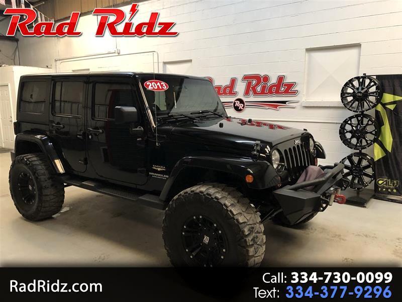 2013 Jeep Wrangler Sahara 4wd Unlimited Jeep