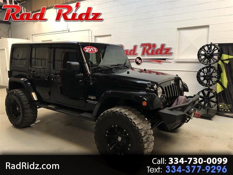 2013 Jeep Wrangler Sahara 4wd Unlimited Jeep