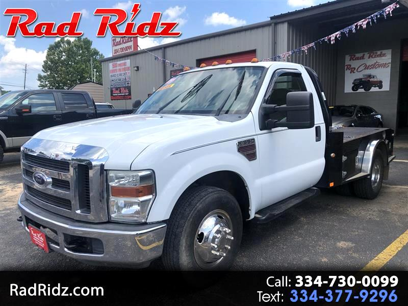 2009 Ford F-350 SD 2WD Reg Cab flat bed dually tow hook