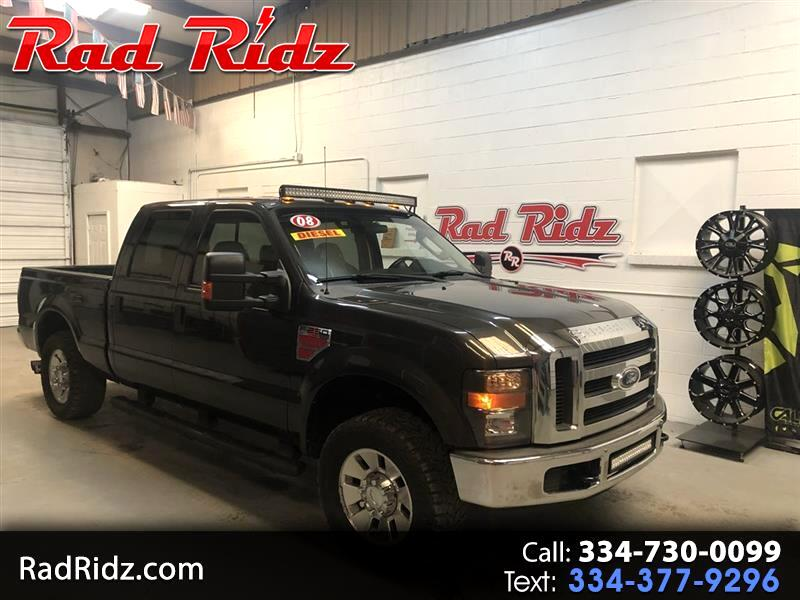 2008 Ford F250 2WD Crew Cab 156