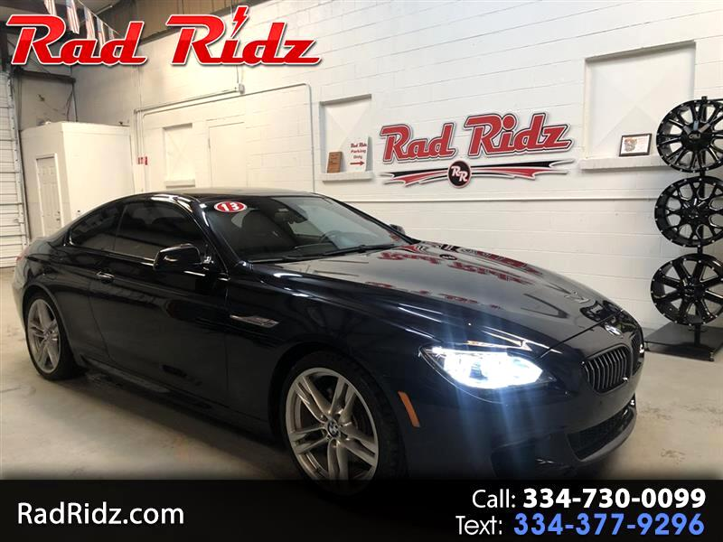 2013 BMW 6 Series 2dr Cpe 650i