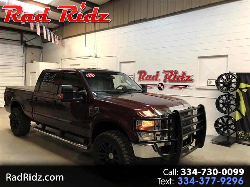"2010 Ford F-250 Crew Cab 4dr 152.2"" WB 4WD"