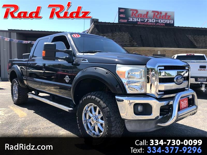 2011 Ford F250 4WD Ford F250sd Lariat