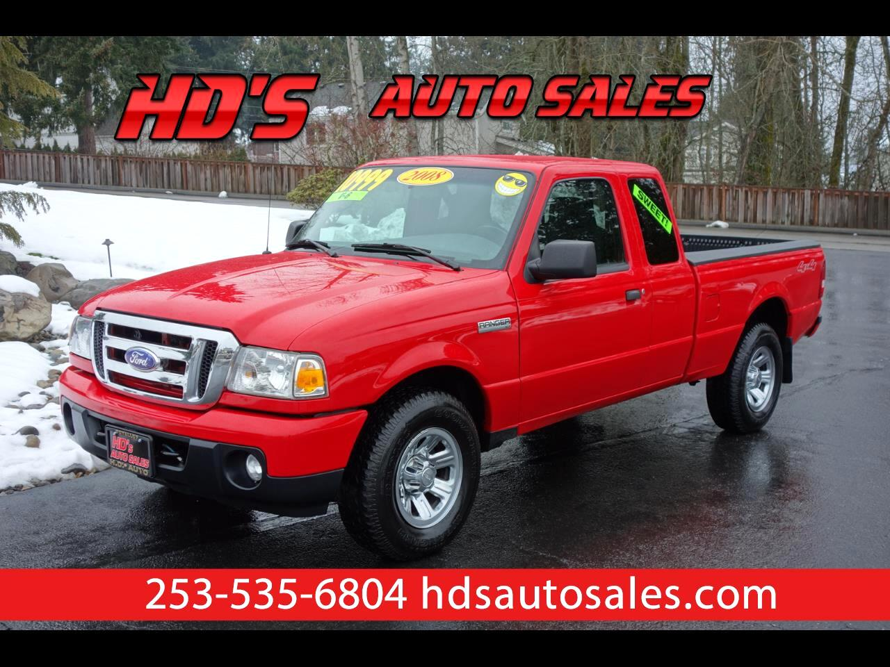2008 Ford Ranger XLT SuperCab 4 Door 4WD