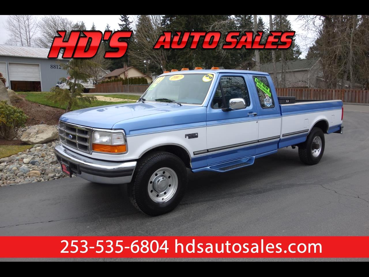 1997 Ford F-250 XLT HD SuperCab Long Bed 2WD