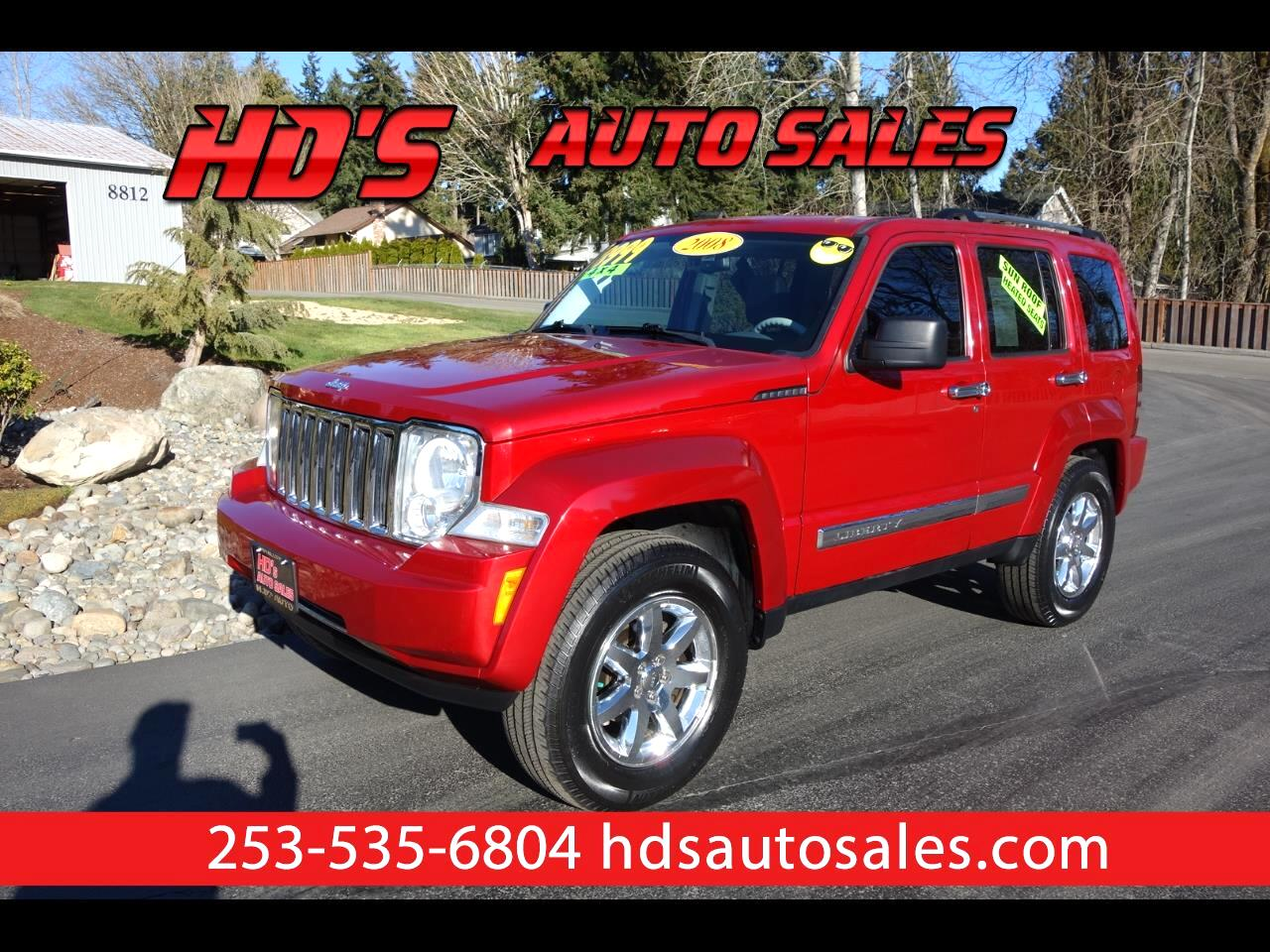 2008 Jeep Liberty Limited 4WD