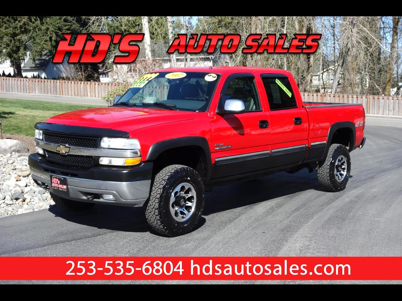 2002 Chevrolet Silverado 2500HD LT Crew Cab Short Bed 4WD