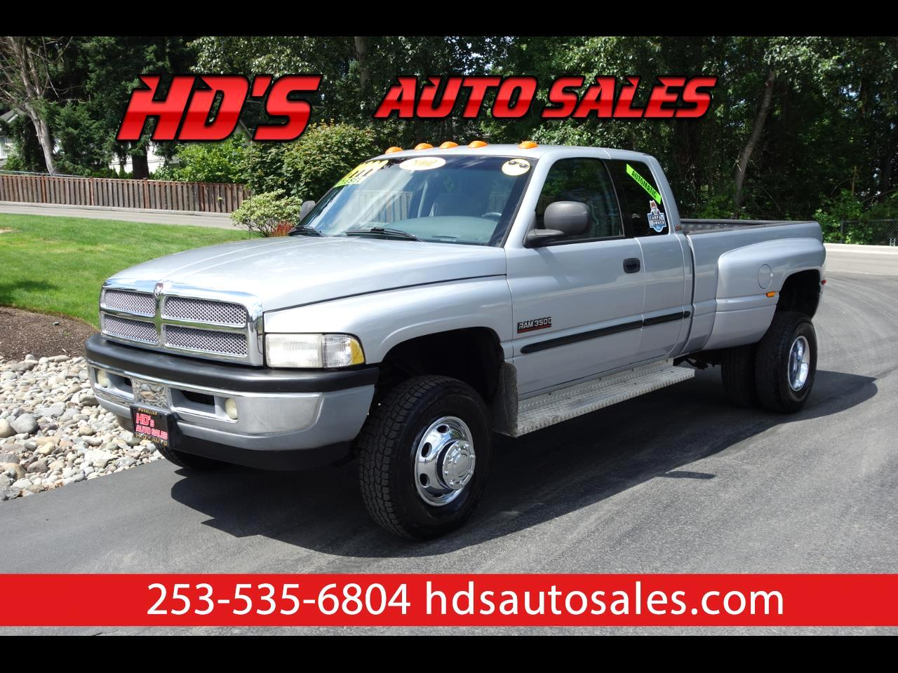 2001 Dodge Ram 3500 Quad Cab Long Bed DRW
