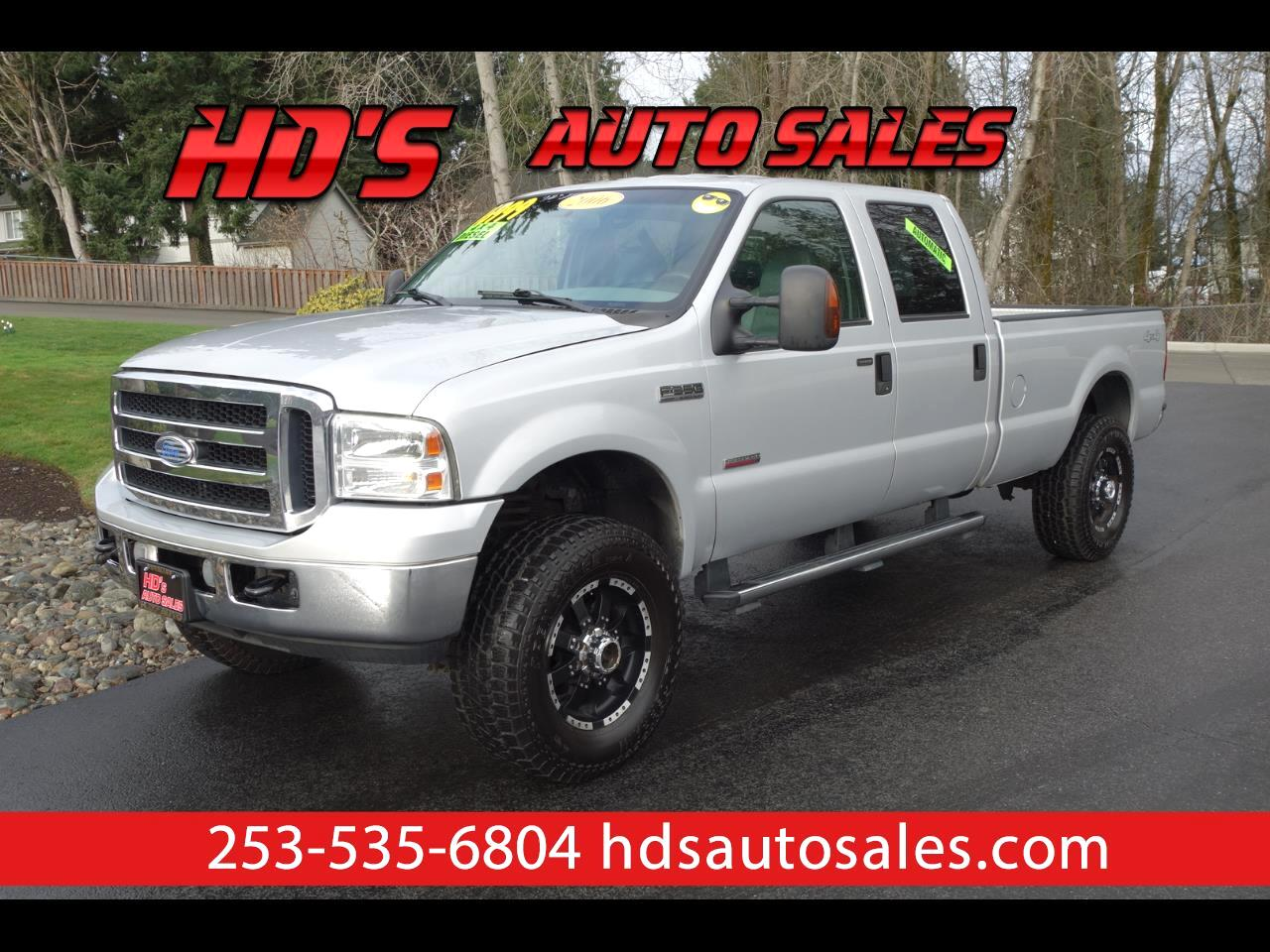 Ford F-350 SD Lariat Crew Cab Long Bed 4WD 2006