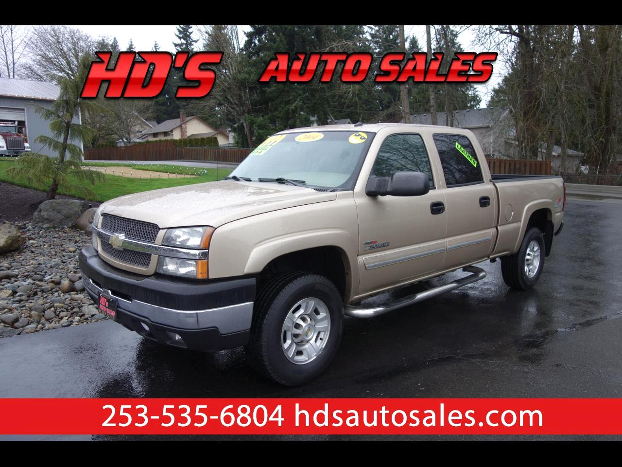 Chevrolet Silverado 2500HD LT Crew Cab Short Bed 4WD 2004