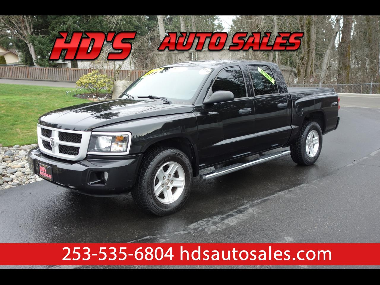 Dodge Dakota SLT Crew Cab 4WD 2011