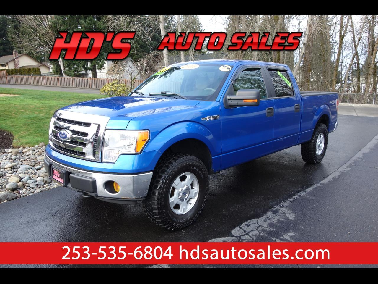 Ford F-150 XLT 4WD SuperCrew 6.5' Box 2010