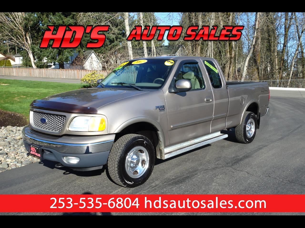 Ford F-150 XLT SuperCab Short Bed 4WD 2002