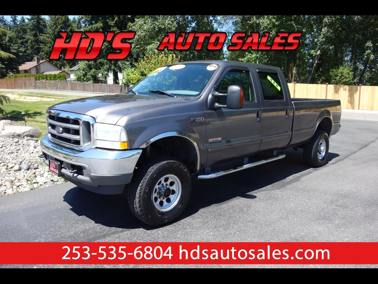 Ford F-350 SD XLT Crew Cab Long Bed 4WD 2003