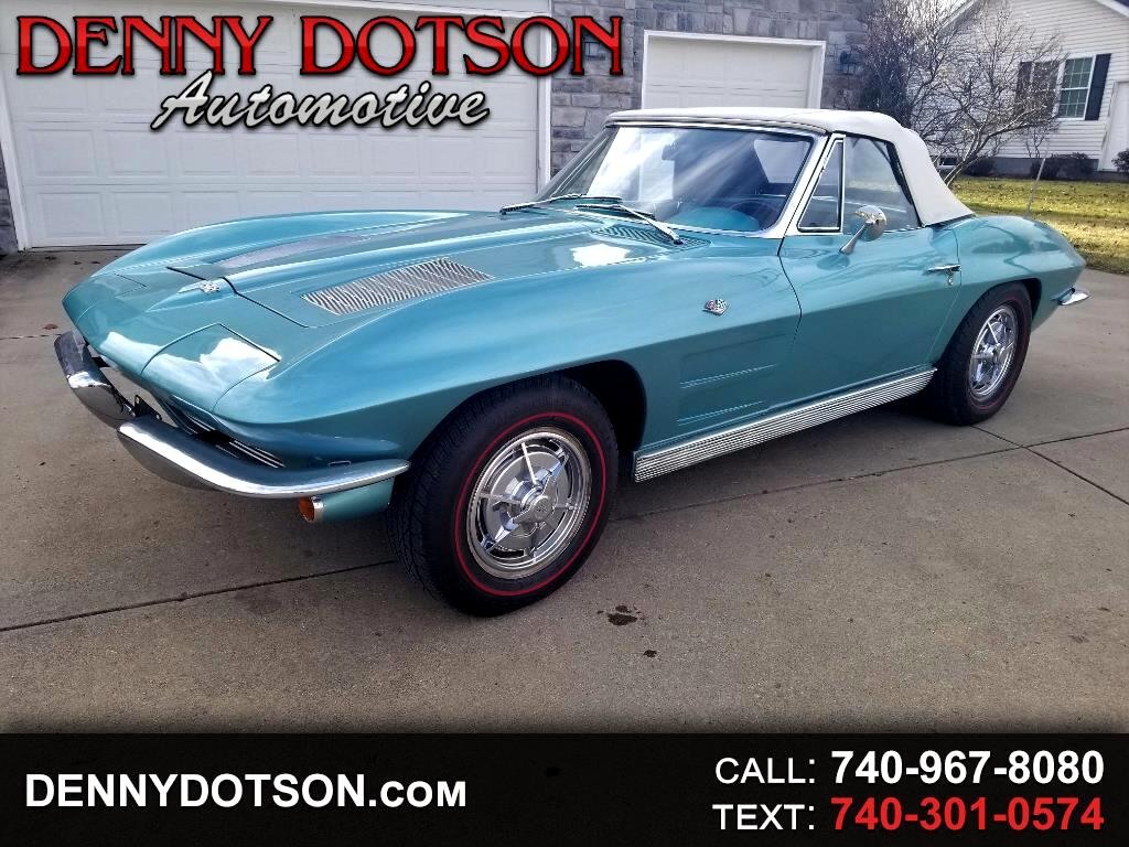 1963 Chevrolet Corvette Stingray Convertible