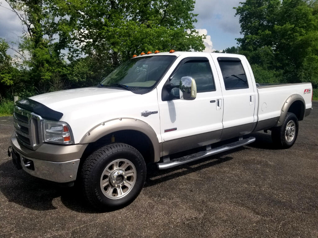 2007 Ford F-350 SD King Ranch Crew Cab Long Bed 4WD