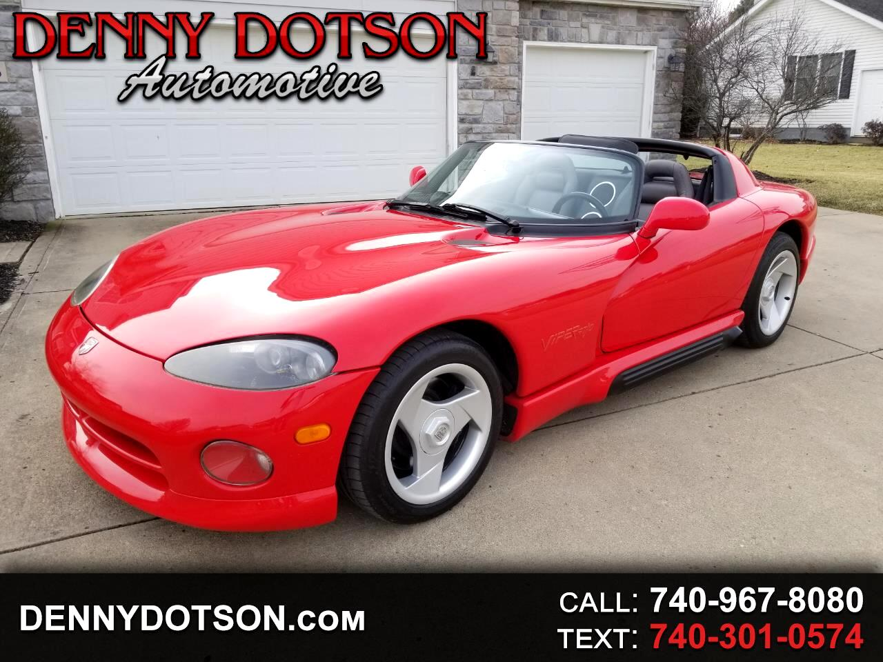 1995 Dodge Viper 2dr Open Sports Car