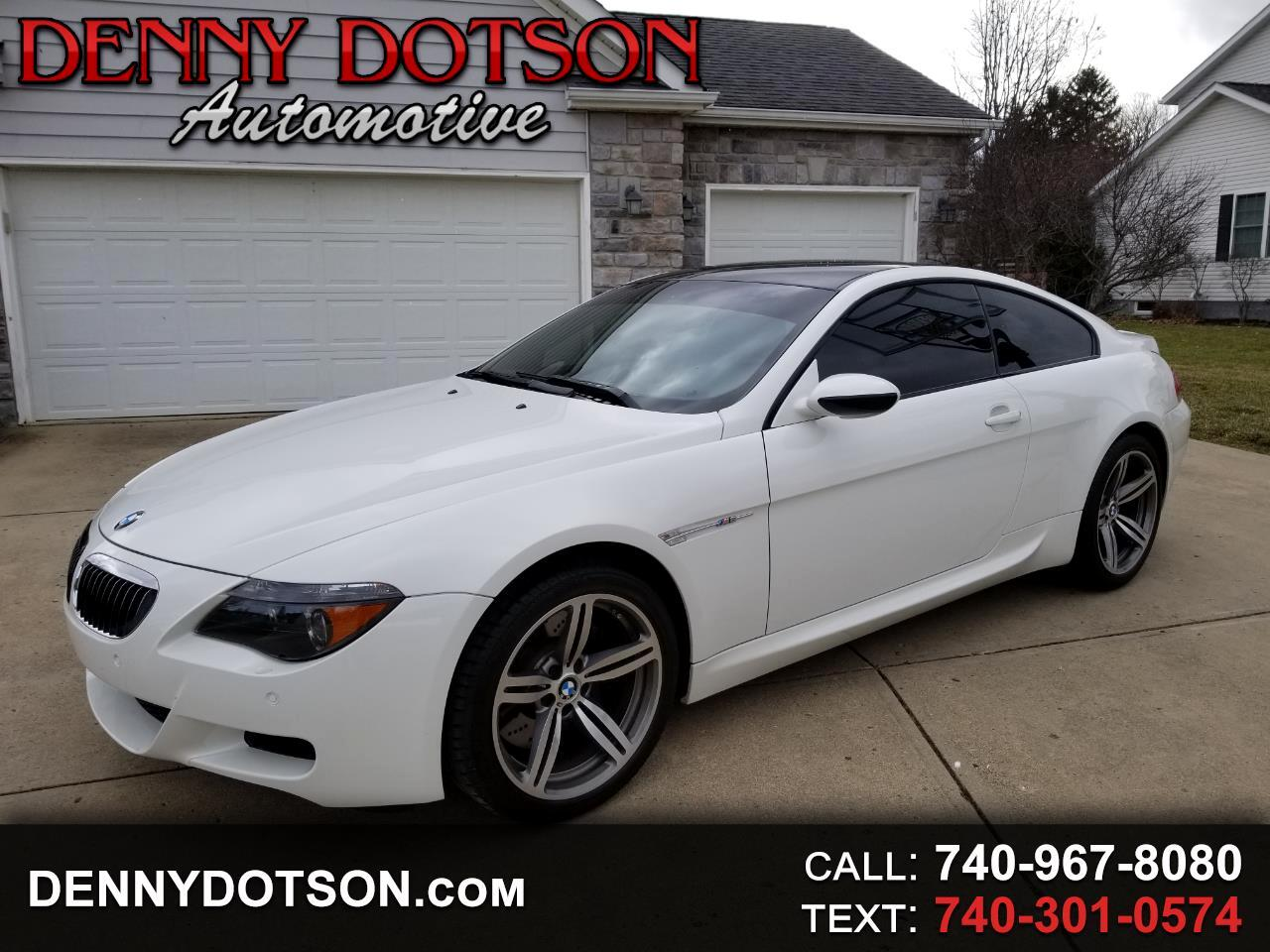 2007 BMW 6 Series 2dr Cpe M6