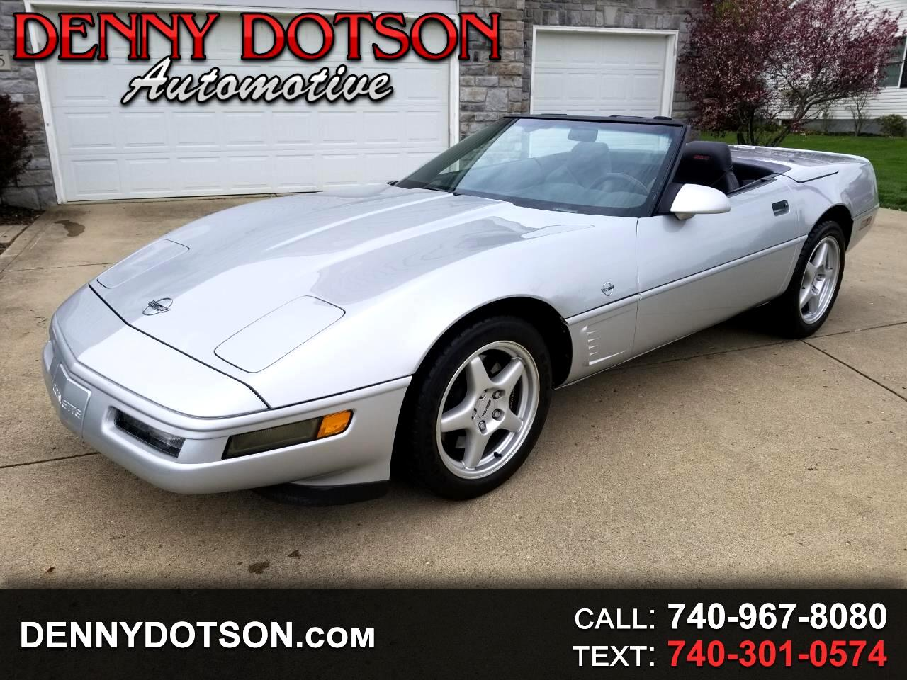 1996 Chevrolet Corvette 2dr Convertible