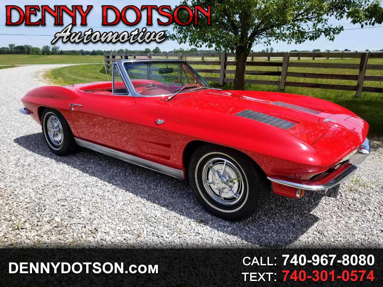 1963 Chevrolet Corvette 2dr Convertible