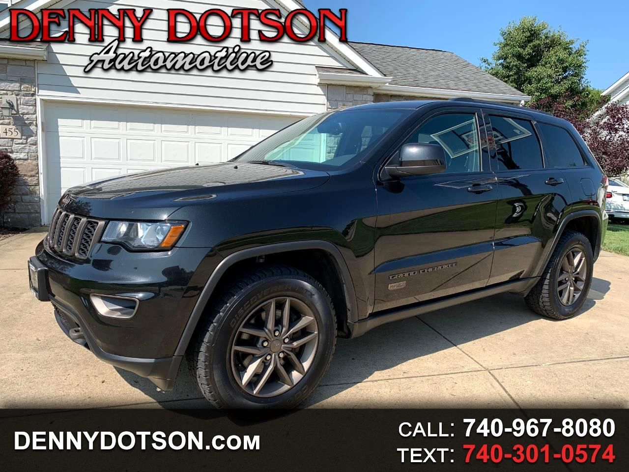 2016 Jeep Grand Cherokee 4WD 4dr 75th Anniversary