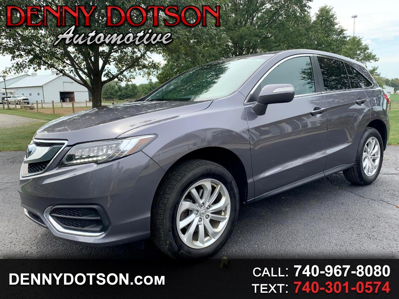 2017 Acura RDX AWD 4dr Tech/AcuraWatch Plus Pkg