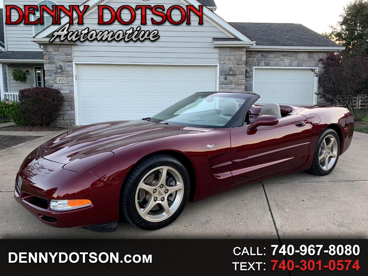 2003 Chevrolet Corvette 2dr Convertible