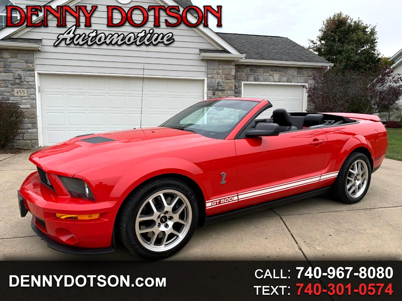 2007 Ford Mustang 2dr Conv Shelby GT500