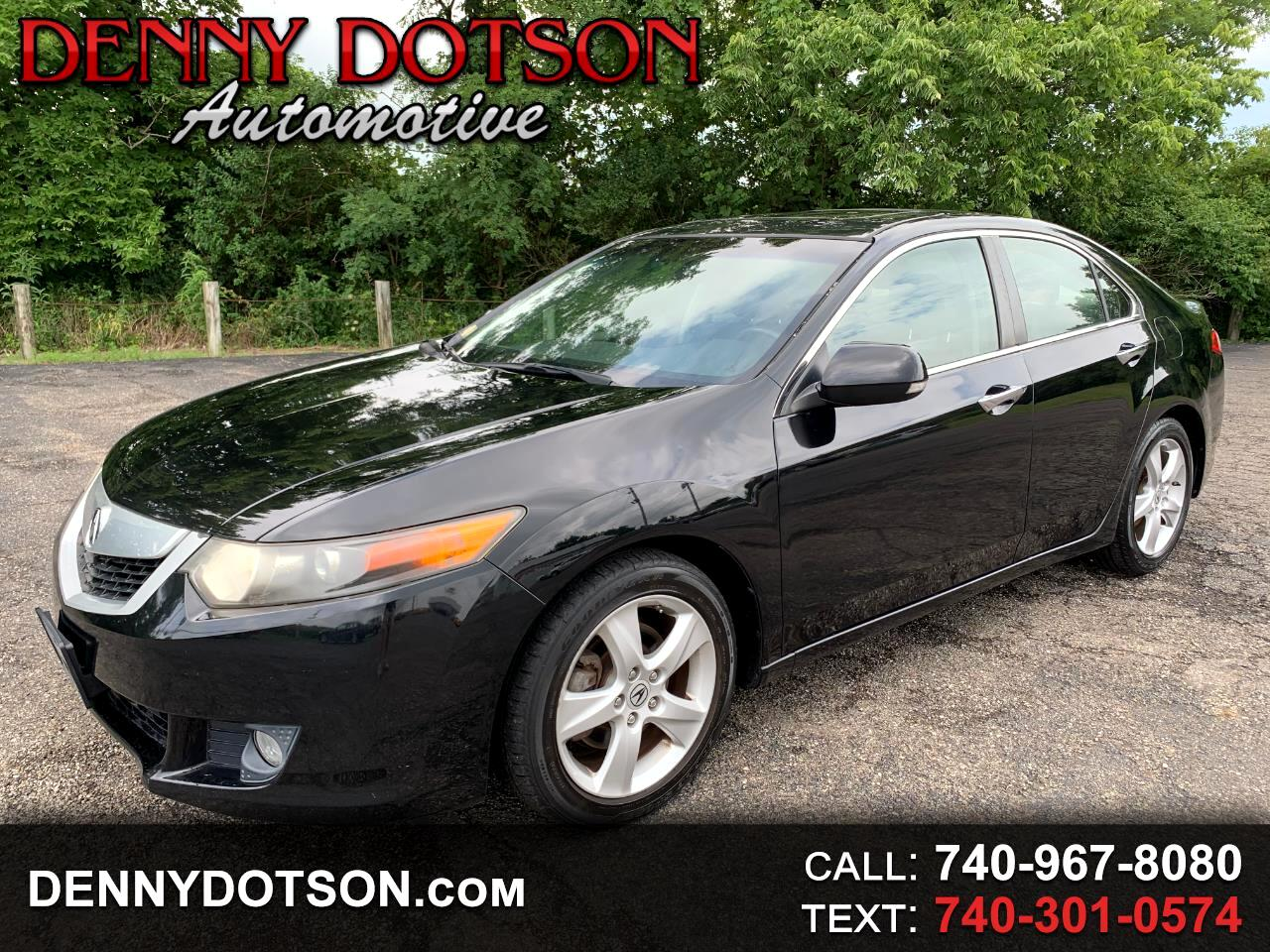 Acura TSX 4dr Sdn Man 2009